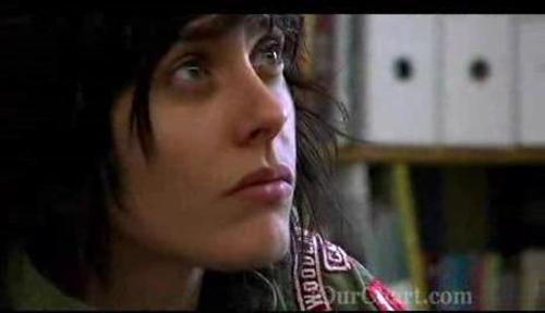 """Kate Moennig in the documentary """"My address: a look at gay youth homelessness"""" directed by Gigi Nicolas."""