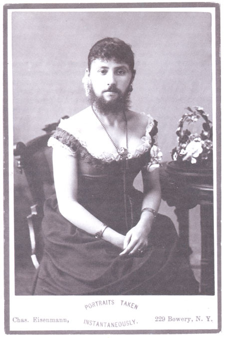 queering:  queer find of the day:Bearded Lady by Eisenmann one more from blackandwtf & adski_kafeteri.
