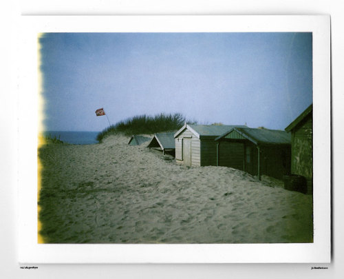 Day 105. Buried. Green Island Studios, Cornwall, UK. Polaroid Land Camera 240 and 125i film (expired 12/2007). (Polaroid photograph, all rights reserved, copyright: Jo Bradford 2010)