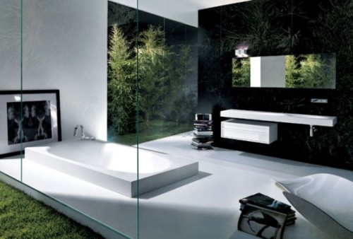 meumoleskinedigital:  Modern Minimalist Bathroom Interior by Michael Schmidt