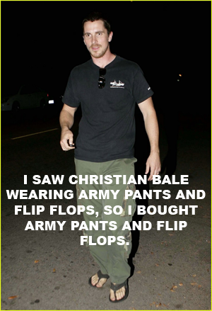 suicideblonde:  One time Christian Bale punched me in the face.  It was awesome.