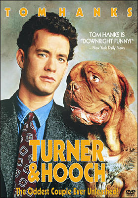 MOVIE MONDAY:  turner & hooch (hanx ftw!)