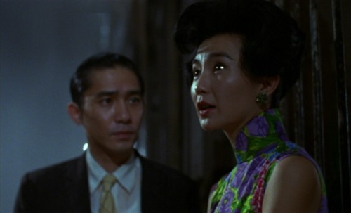 Tony Leung and Maggie Cheung in the haunting In The Mood For Love (2000), directed by Wong Kar Wai.