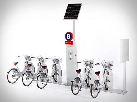 Finally! Urban bike sharing comes to the 'States Grant Harrison, the co-founder of my latest venture, The Future Well, built B-Cycle with Trek and CP+B when he was VP of Innovation at Humana. It's finally launching and looking great in Denver. B-cycle is a next-gen bike-sharing system. In layman's terms: B-cycles are magic bikes that are there when you want one and gone when you don't. Just swipe your card, grab a bike, and get to where you're going. It's like Zipcar for bikes. Awesome.
