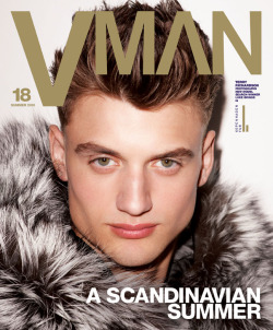 Luke Briggs (Photography: Terry Richardson) VMAN18 hit the newsstands today featuring two different covers photographed by Terry Richardson with styling by Mel Ottenberg and both are of winners, literally! VMAN FORD MODEL SEARCH winners Luke Briggs and Michael Wozniak appear on their respective covers under the title A Scandinavian Summer.  The other VMAN finalists Ford Smith and Nicholas Madrid also feature inside the magazine.  Go cop both issues today! Please visit VMAN for more details.  Also check out MDC's story on VMAN18.