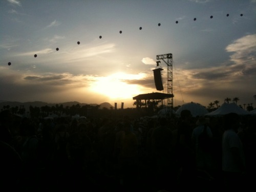 Coachella 2010 was absolutely mind-blowing. Here are some more photos from my trip down to Indio and the festival. Best of Show definitely goes to Thom Yorke's new band, Atoms for Peace. They are the absolute sickness and if you haven't heard their stuff you should check it out immediately.