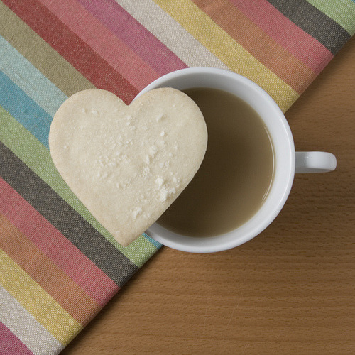 heart cookie and coffee (by dear_new_girl)