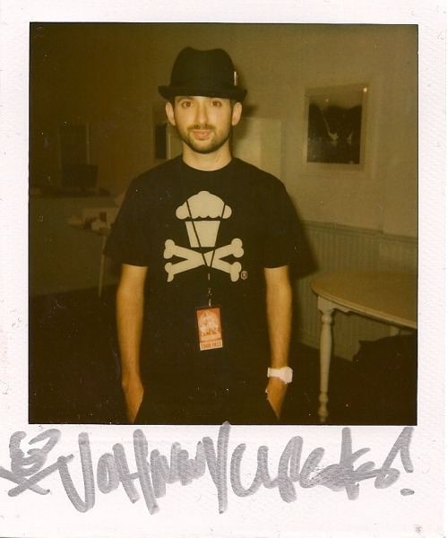 (via sincerelykimbui)Another polaroid from when the Johnny Cupcakes Suitcase Tour stopped in New York.