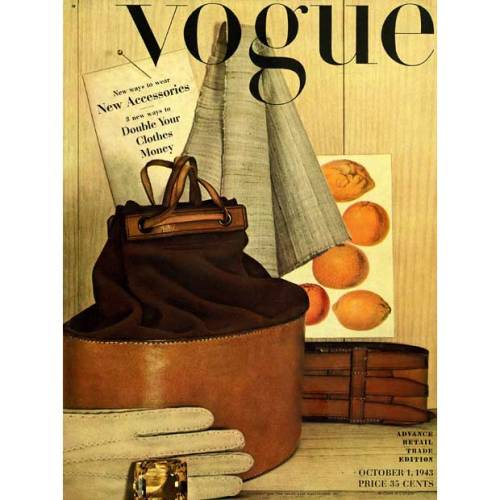 Irving Penn Vogue cover 1943