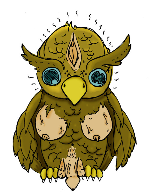 my friend Tyler drew this for me… its the sexy owl.