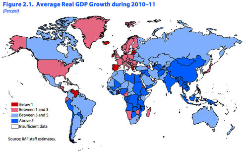 Fragile Global Recovery (via IMF & Leo from Pension Pulse )