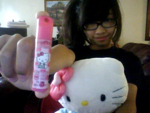 Hello Kitty Doll & Lip Balm  Submitted by niccaallison
