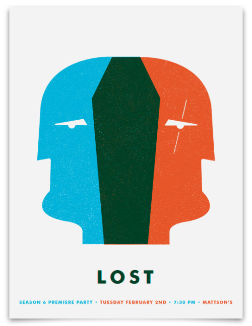 Clever LOST posters. Excited & sad it's almost over. Click on the pic for more.