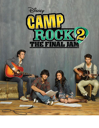 Official poster for Camp Rock 2: The Final Jam. Who's Excited? :D