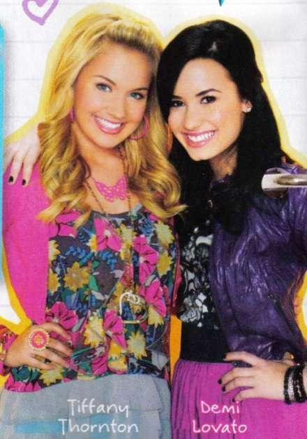 Demi Lovato to be Tiffany Thornton's bridesmaid! via Tiger Beat