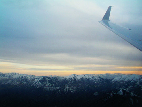 flying over utah. (: submitted by camsluv7 - thanks!