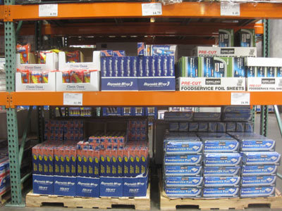 What the heck, Costcos actually look like that?  I've never been to one, but I thought the jokes about it being a warehouse with gallon-sized-jugs of mayonnaise were just, you know, jokes.