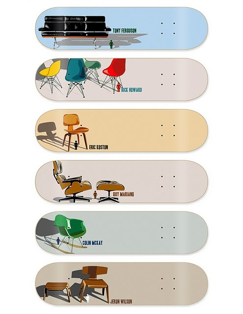 Girl Skateboards: Modern Chair Series