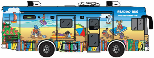 librarianista:  The Virginia Beach Public Schools Reading Bus