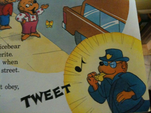 Berenstain Bears, tweeting before it was cool.