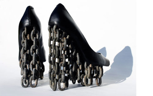 Chains of Love:  Tove Jansson heels