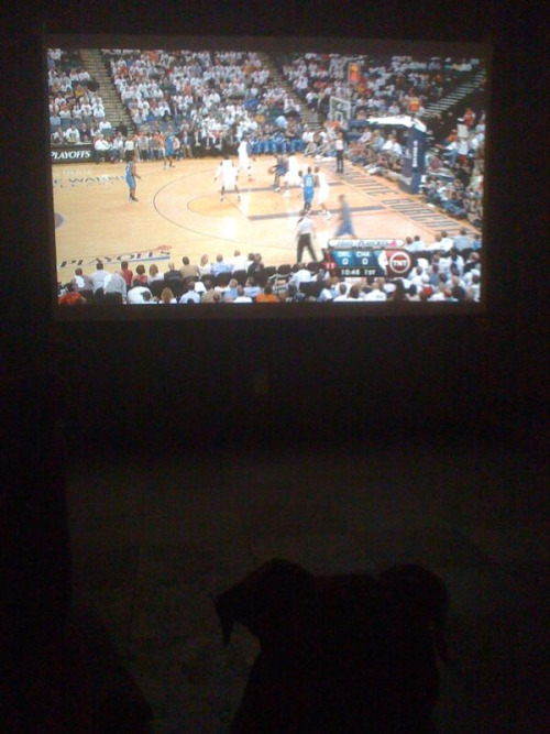 Magic game on the wall.