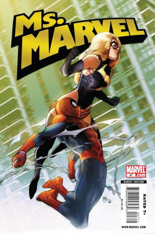0619. Ms. Marvel v2 #47, January 2010, written by Brian Reed, penciled by Mike McKone, Rob DiSalvo and Derec Donovan My Score: 8.3