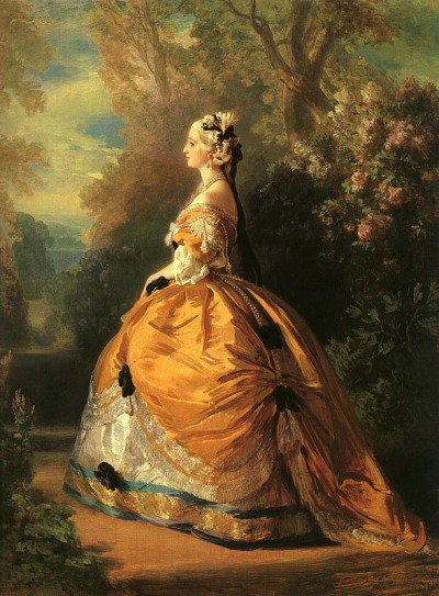 The Empress Eugénie by Franz Xaver Winterhalter. 1854 Metropolitan Museum of Art