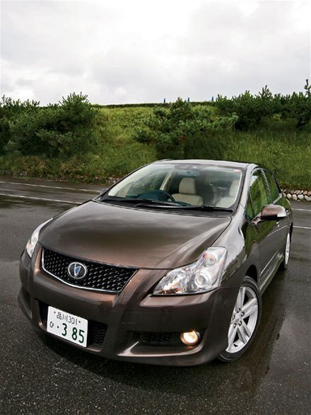 2008 Toyota Blade Master G  Looks a lot like a Toyota Corolla, right? Aha! But this one has the 3.5l 206kw V6 from the Lexus IS350 stuffed into the front.  And now you're interested.  Ah, but Toyota giveth and Toyota taketh away. The Blade Master G is only available with an automatic transmission.  Suddenly it's a lot less interesting.  I got all excited about this car on the Twitter the other day. And then Drew said:     206kw? All the more to unintentionally accelerate with, I guess.   (Pic via Sport Compact Car)