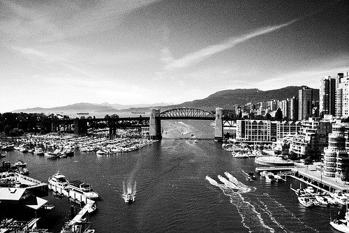 Granville Island in the summer - soon to come by: robot heart
