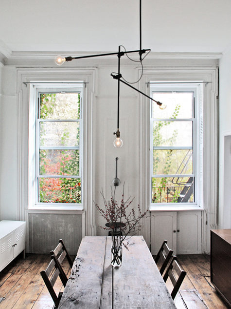 Design*Sponge » Blog Archive » workstead industrial chandelier I want to go to there.
