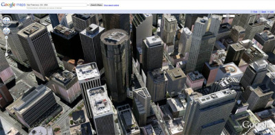 Google Maps gets 3D view of the world | Deep Tech - CNET News Google on Monday augmented Google Maps with a feature called Earth view that brings the Google Earth software's 3D perspective to the Web browser. Earth view is available through the installation of a browser plug-in Google originally issued in 2008. With it, people can see the contours of world—canyons and mountains, most dramatically—using the Google Earth fly-through interface.