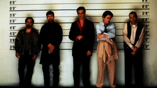 Day 7: The Most Surprising Plot Twist/Ending The Usual Suspects Ah, so brilliant. The Usual Suspects is definitely in the running for my single favorite movie of all time. It is really that good. The performances are excellent (especially Kevin Spacey and Gabriel Byrne), the direction superb and the screenplay is probably one of the best out there. I won't spoil the ending for anyone, but it is so well done. Everything wraps up perfectly at the end in way you never see coming, but is so far beyond fulfilling. The movie that made my love Bryan Singer, Byrne and Spacey, as well as the one I wish I'd written. I highly recommend it to everyone.