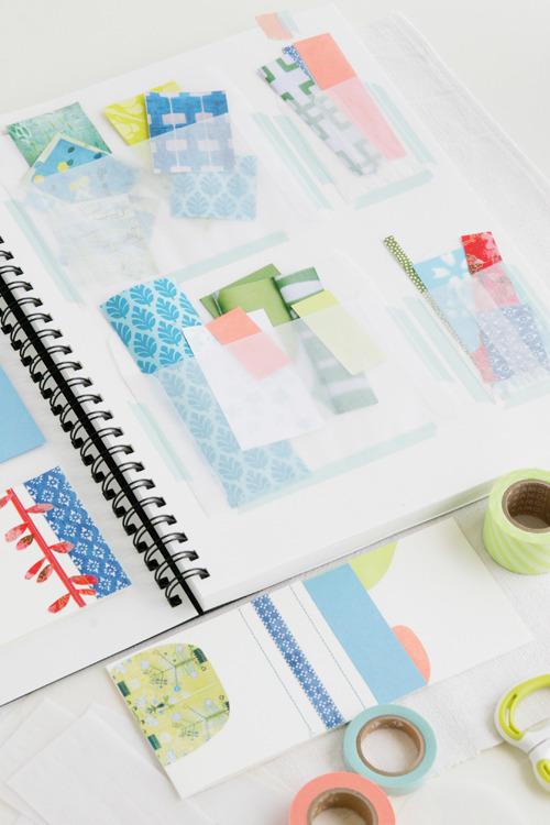 always love scraps and journals, via decor8