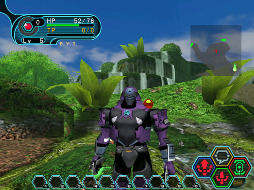 Phantasy Star Online exemplifies the qualities I like in an online RPG. I can see where one would prefer the seemingly never-ending MMOs like World of Warcraft where there are a thousand things to do, but for me, I like the simplicity of getting a group of people together, trading and buying stuff, and going into dungeons that are always familiar with not much else going on. Difficulty ramps up progressively as you gain experience, you gain access to new areas, and you chat with your small group as you do this. It's a fun and fluent experience that I personally think is lost in the more expansive online games. Anyone want to play PSO with me once finals are over?
