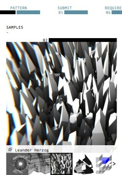 Written Images; a project in contemporary generative print design and art. Its final products will be a book that presents programmed images by various artists. Each print in process will be calculated individually – which makes every single book unique.