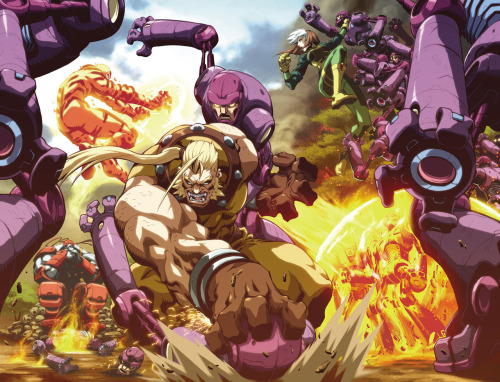 Age of Apocalypse..I love this style..