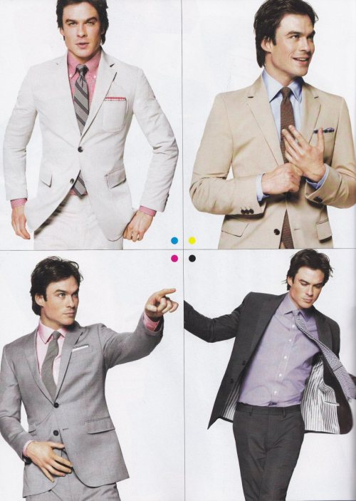 Ian Somerhalder, GQ magazine