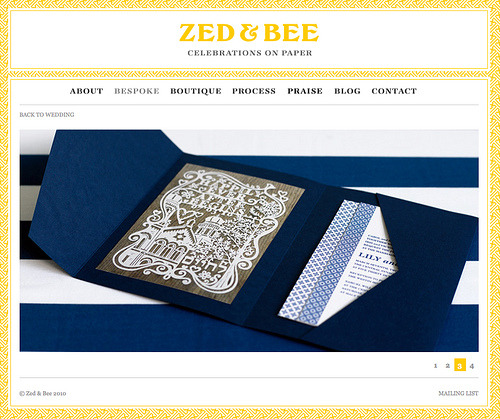 Jewish Wedding Invite Collaboration