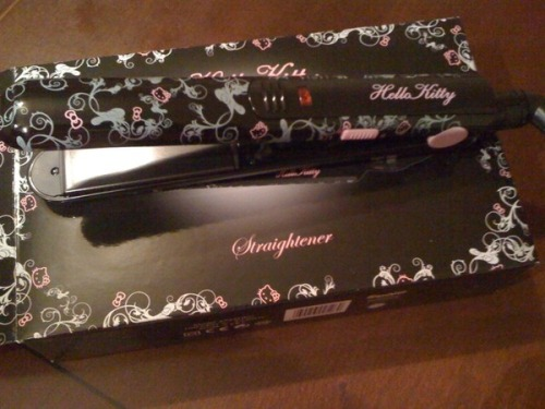 Hello Kitty Hair Straightener