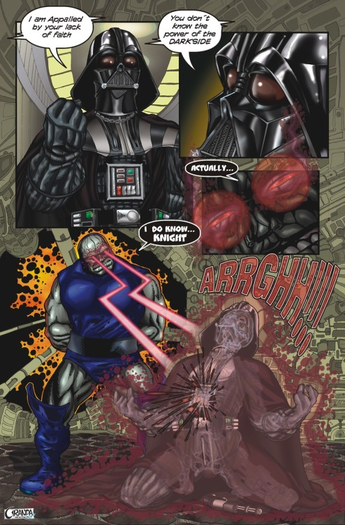 DARK SIDE VS DARKSEID (via paintwall)