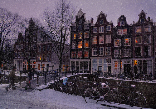 Let it snow in Amsterdam