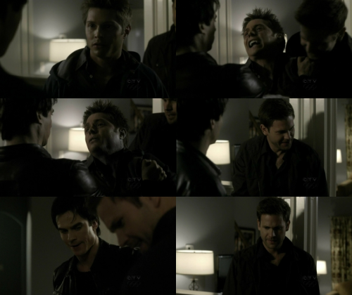 The Vampire Diaries 1x20:  Damon: Let's not kill anyone tonight, your words…