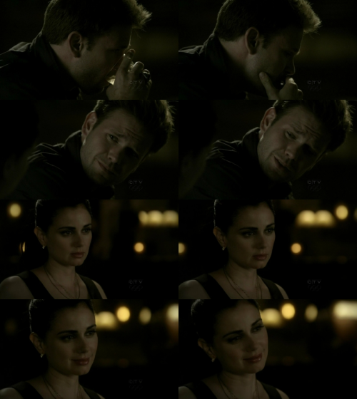 The Vampire Diaries 1x20:  Isobel: Hello Alaric…Alaric: Isobel…