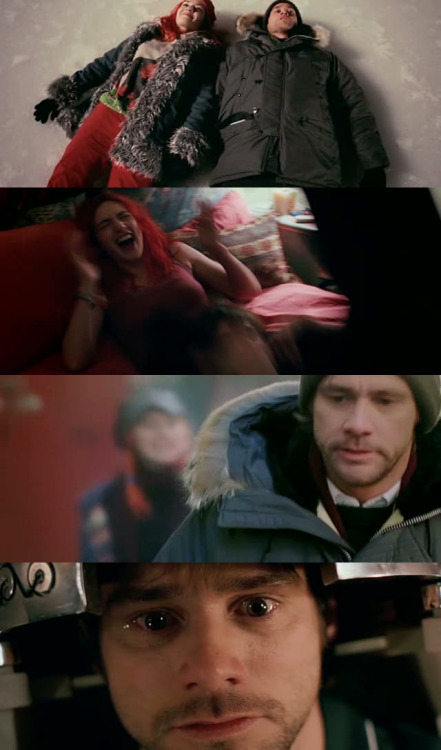 moviesinframes:  Eternal Sunshine of the Spotless Mind, 2004 (dir. Michel Gondry)Submitted by Crazy Simo  [more Eternal Sunshine here]