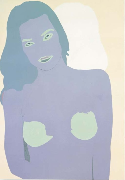Gary Hume  Untitled (Portrait of Zoe)  enamel on aluminium  411/8 x 28¾in. (104.5 x 73cm.)  Painted in 1999.