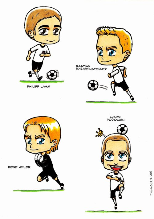 fuckyeahmannschaft:  Made by panamang@deviantart  Why so kawaii?