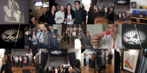 "On June 6th, 2009 Studio 730 was transformed into an art gallery / cocktail bar when I hosted The TYPE 669 Show at my studio. Named for Polaroid TYPE 669 the exhibit featured Polaroid Images from my archives as well as some new works. Here are some of the pics taken at the event. Since the success of The TYPE 669 Show guests have been clamouring for me to make this an annual event. My next show ""Apologue"" will feature all new work and will be held in mid June. Drop by if you're in Vancouver. Details to come."