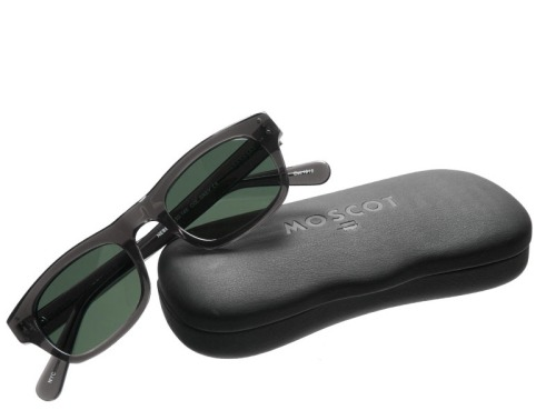 Grey Frame Nebb by Moscot
