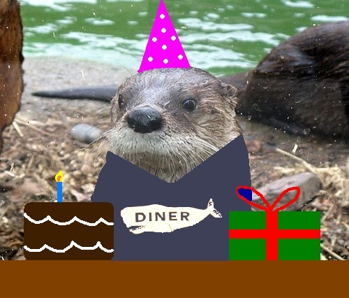 Guess what?  The Otter Blog turned one today!  My intentions were to make about five of these, but things just spiraled out of control, and now, over 200 otters later, I think it is time to call it quits.  To the tens of twenties of people who read this, I hope you enjoyed the ride; I know I did.  K.thx.bye! PS – I will still be over here, writing haikus about Boner Stabone and John Stamos if anyone is interested. Original otter via